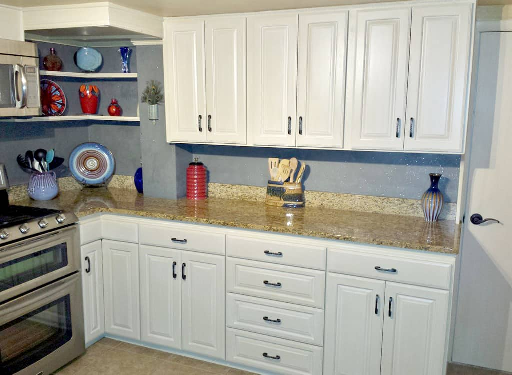 When To Refinish Kitchen Cabinets Instead Of Refacing Angi