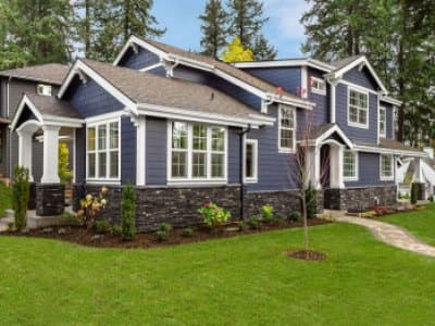 Nice home exterior with clean siding