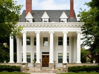 Colonial style house