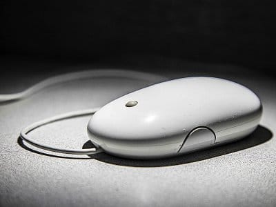 old computer mouse