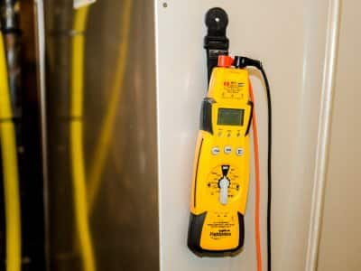 electrician tool called a voltage meter
