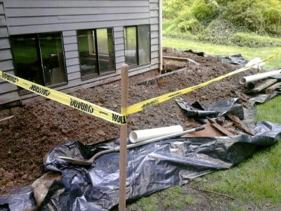 foundation repair on home
