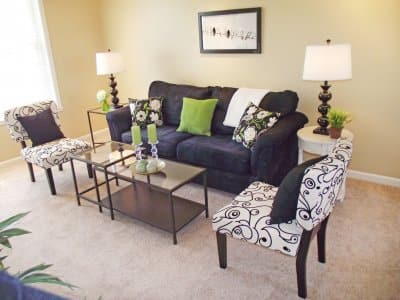 living room, home staging