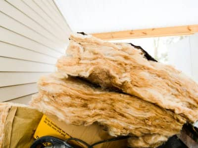 Pile of insulation