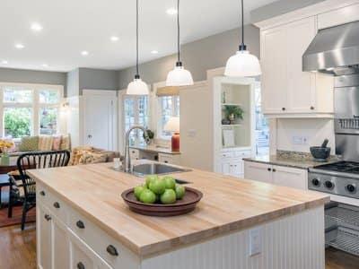 Luxury kitchen addition