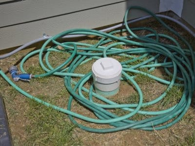 Outdoor garden hose