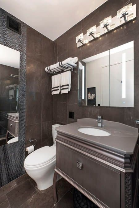 Will your bathroom remodel bring additional value to your home? It depends on whether you are staying or selling. (Image courtesy of Jessenia Toro of MyHome Design & Remodeling)