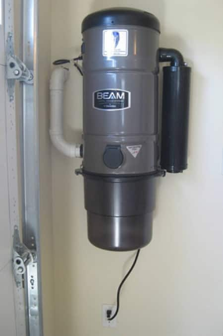 central vacuum system