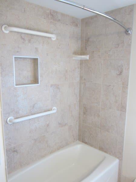 porcelain shower tile