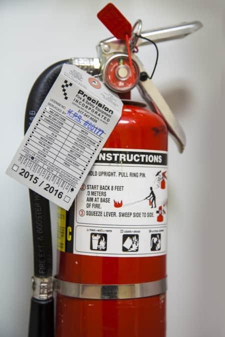 extincteur d'incendie