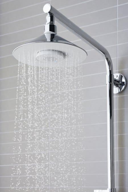 Kohler Moxie shower head.