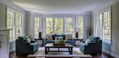 Soft-lite double-hung windows