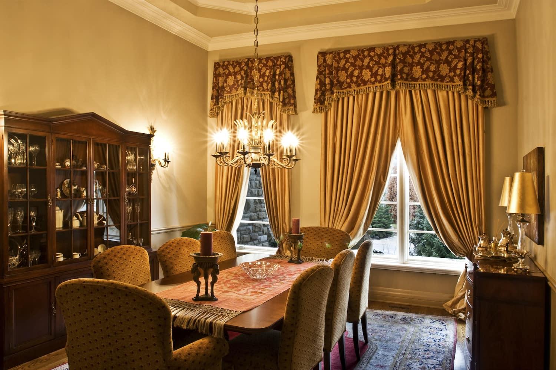 12 Dining Room Curtains Ideas   Angi [Angie's List]