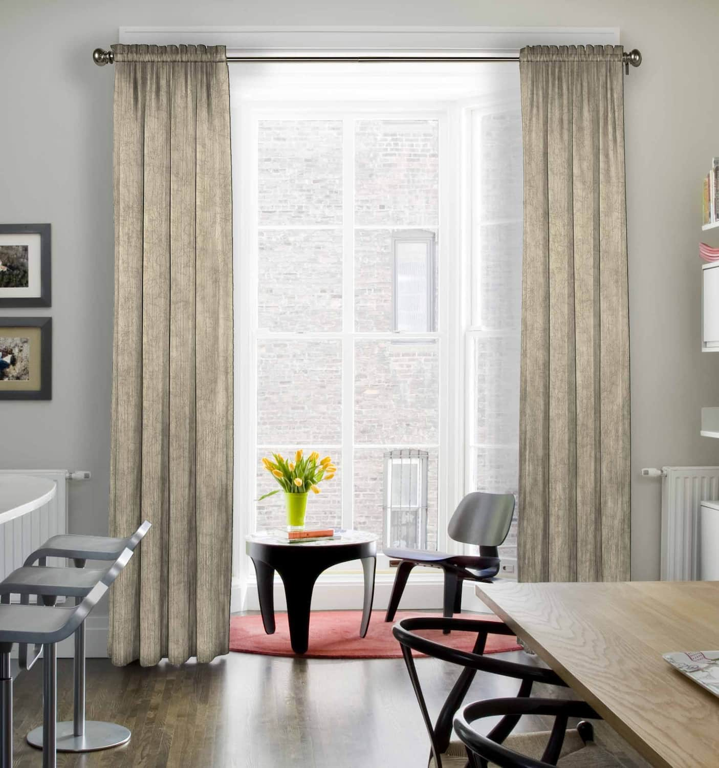 15 Dining Room Curtains Ideas Angi