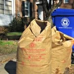 Garbage collection has been spotty around the D.C. region the last week because of the winter weather. Help, though, is on the way. (Photo courtesy of Arlington County)