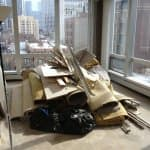 A quality junk removal company will arrive on the job with appropriate tools and equipment to complete the job and will remove all items, says Annatone. (Photo courtesy of Angie's List member Joshua B. of Chicago)
