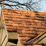 wood cedar shake shingles on roof