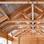 Roof with king post trusses (Photo by Ultrapro - stock.adobe.com)