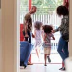 Family leaves for vacation (Photo by monkeybusinessimages/iStock/Getty Images Plus)