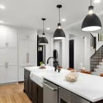 Interior of a modern kitchen with pendant lights (Photo by bmak - stock.adobe.com)