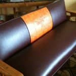 Once a year, you can put the equivalent of mitt oil on your leather furniture and it will remove scratches and recondition the leather, says Johnson (Photo courtesy of Angie's List member Christie B. of Minneapolis)