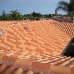 ceramic tile roofing on Florida home