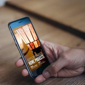 AL Weekly promo with smartphone