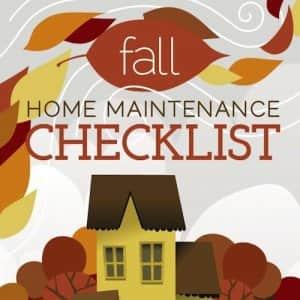 fall home maintenance infographic header