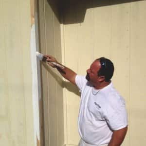 Anthony Harness focuses his handyman efforts on painting and minor fixes. (Photo courtesy of Anthony's Make Ready)