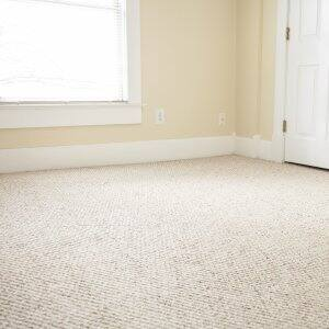 carpeting in an empty room
