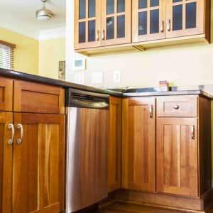 lazy Susan kitchen cabinet