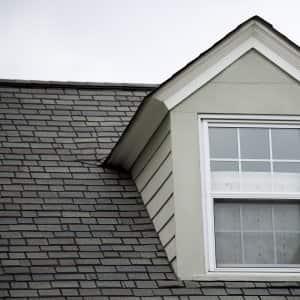 ashalt shingle roof with dormer