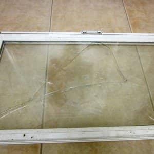 broken window, cracked glass
