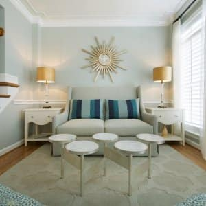 pale blue paint color in living room
