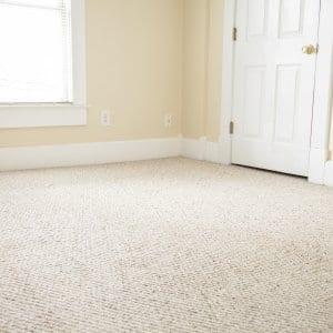 carpet in an empty room