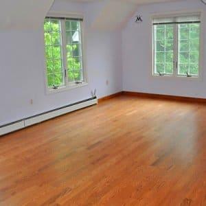 bare room with hardwood floor