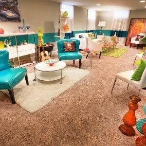 interior designer finished basement