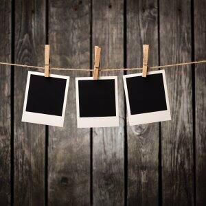 blank polaroids