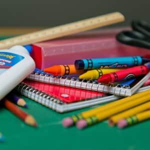 school supplies (Photo by Brandon Smith)