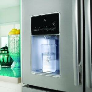 refrigerator provides soft drinking water