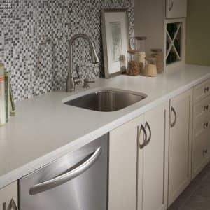 undermount sink Formica countertop