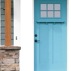 Blue door (Photo by TriggerPhoto / iStock / Getty Images Plus / Getty Images)