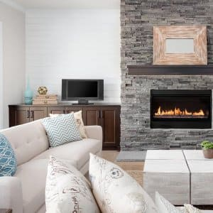 Fireplace in luxury home (Photo by bmak - stock.adobe.com)