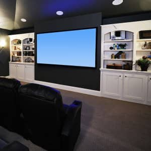 Home Theater (Photo by EricVega / E+ via Getty Images)