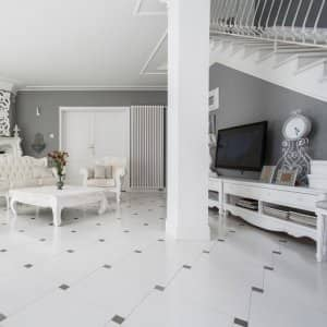 Luxury tile flooring (Photo by KatarzynaBialasiewicz / iStock via Getty Images)