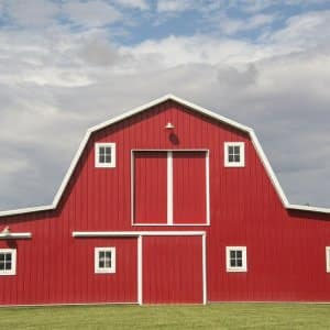 Red Barn (Photo by Joanna McCarthy / The Image Bank via Getty Images)