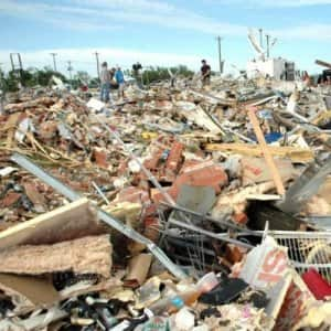 FEMA allowed victims of the 2013 Oklahoma tornados to apply for financial help after the federal government declared certain counties disaster areas. (Photo by Katie Jacewicz)