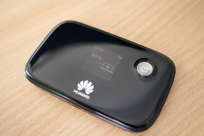 Huawei E577 4G LTE mobile hotspot.