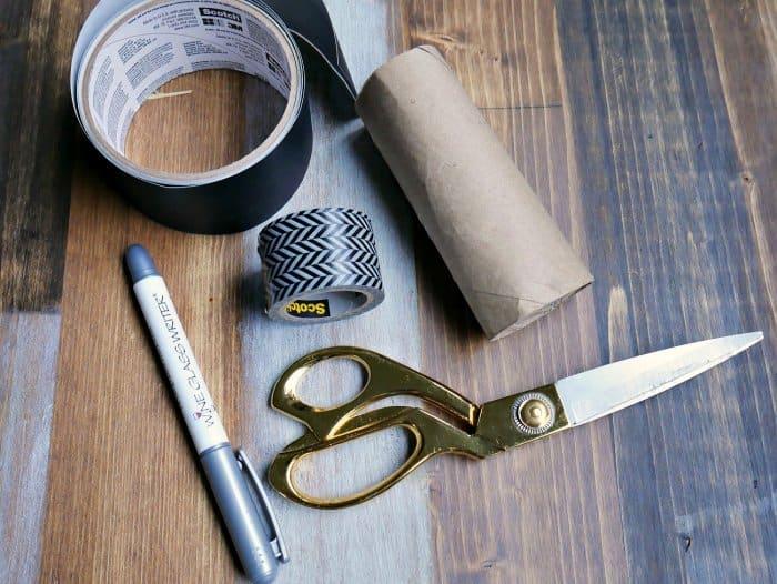 DIY napkin ring supplies
