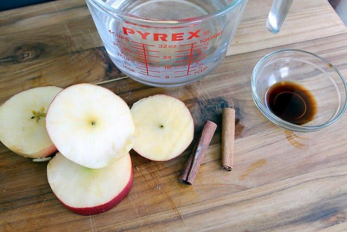 apple pie simmer recipe